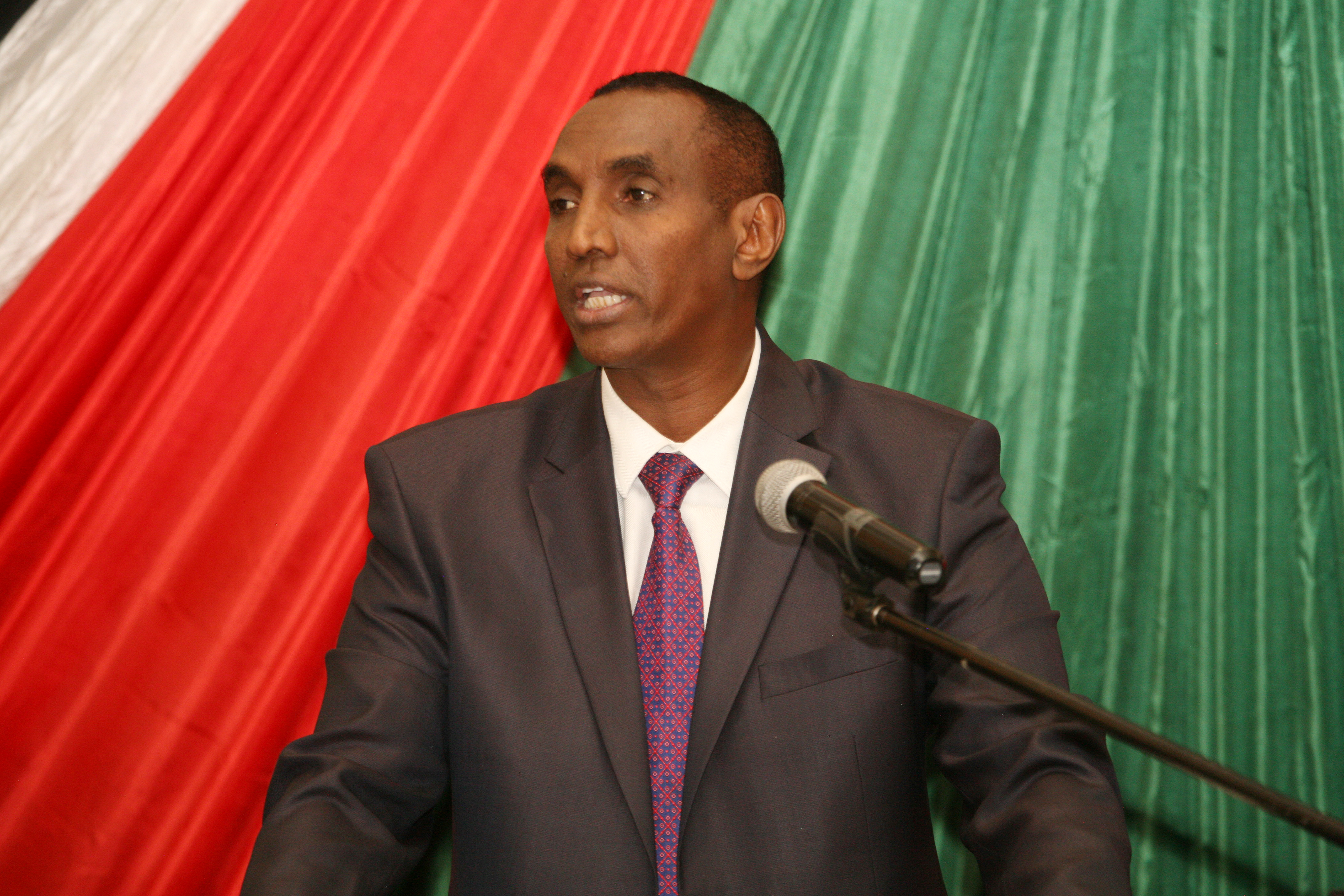 THE HIGH COMMISSIONER H.E. AMB. (HON) MOHAMED M. SHIDIYE